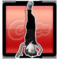 Breakdance Headspin